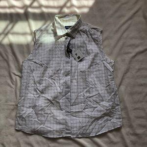 Burberry Golf button-up vest